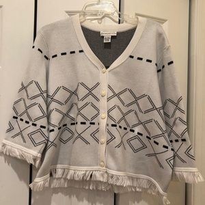 Doncaster Chanel-style sweater jacket, 2X